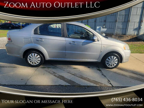 2008 Chevrolet Aveo for sale at Zoom Auto Outlet LLC in Thorntown IN