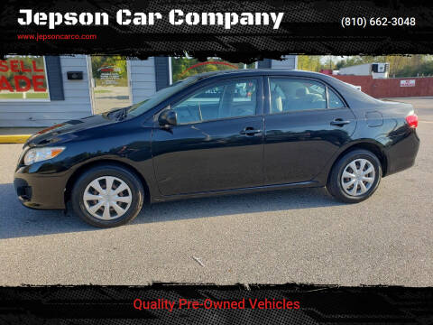 2009 Toyota Corolla for sale at Jepson Car Company in Saint Clair MI