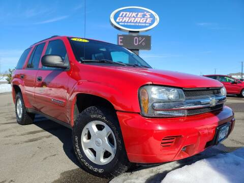 2002 Chevrolet TrailBlazer for sale at Monkey Motors in Faribault MN