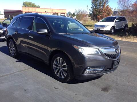 2014 Acura MDX for sale at Bruns & Sons Auto in Plover WI