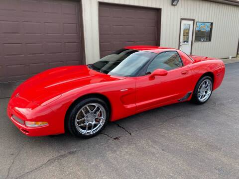 2001 Chevrolet Corvette for sale at Ryans Auto Sales in Muncie IN