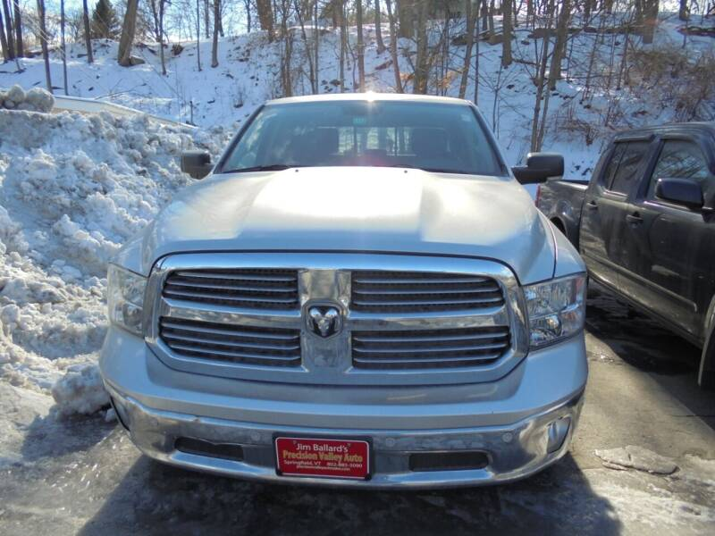 2014 RAM Ram Pickup 1500 for sale at Precision Valley Auto Sales in Springfield VT