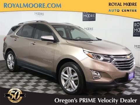 2018 Chevrolet Equinox for sale at Royal Moore Custom Finance in Hillsboro OR