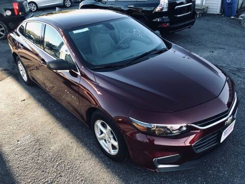2016 Chevrolet Malibu for sale at Trimax Auto Group in Baltimore MD