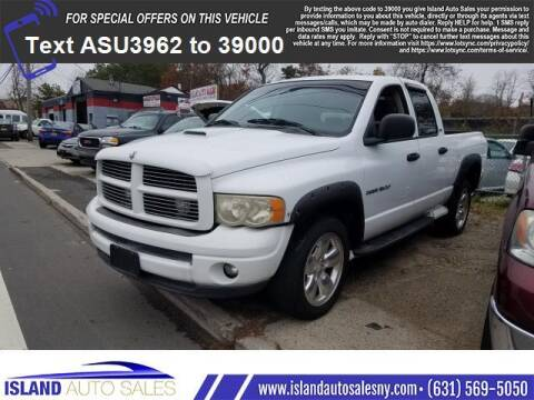 2002 Dodge Ram Pickup 1500 for sale at Island Auto Sales in E.Patchogue NY