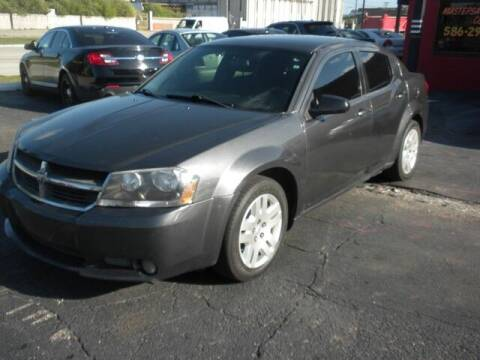 2014 Dodge Avenger for sale at MASTERS AUTO SALES in Roseville MI
