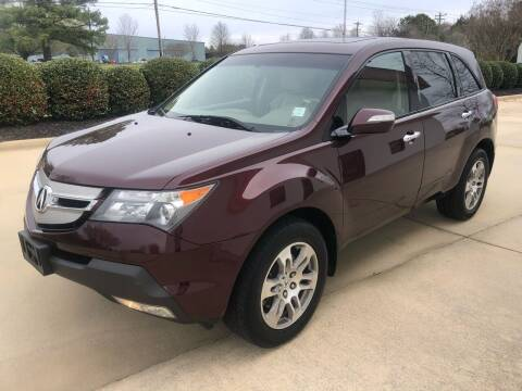 2008 Acura MDX for sale at A&M Enterprises in Concord NC