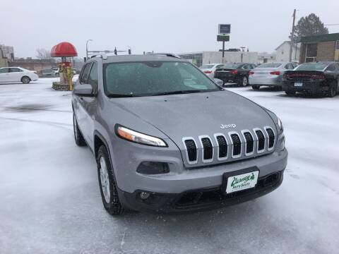 2017 Jeep Cherokee for sale at Carney Auto Sales in Austin MN