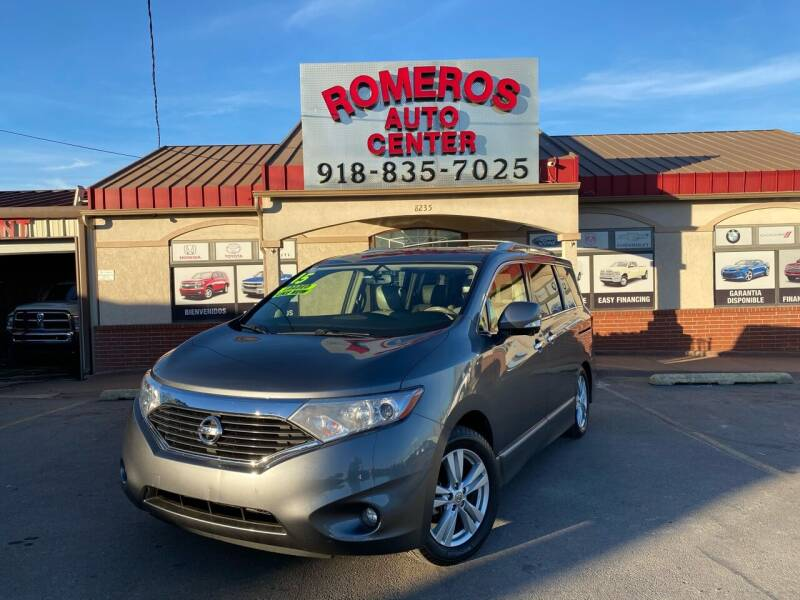 2015 Nissan Quest for sale at Romeros Auto Center in Tulsa OK