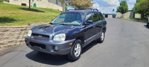2004 Hyundai Santa Fe for sale at 4 Below Auto Sales in Willow Grove PA