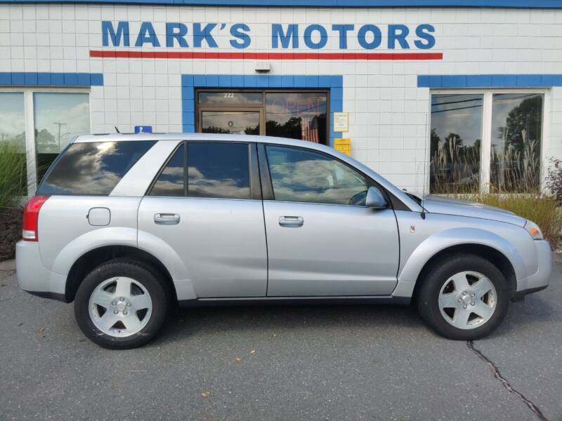 2006 Saturn Vue for sale at Mark's Motors in Northampton MA
