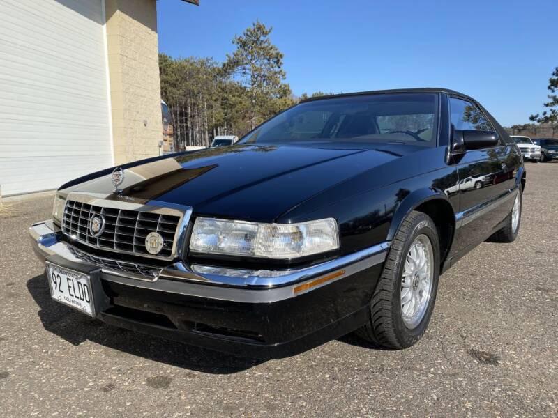 1992 Cadillac Eldorado for sale at Route 65 Sales & Classics LLC - Classic Cars in Ham Lake MN
