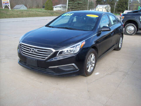 2017 Hyundai Sonata for sale at Summit Auto Inc in Waterford PA