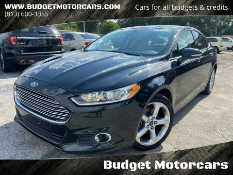 2015 Ford Fusion for sale at Budget Motorcars in Tampa FL