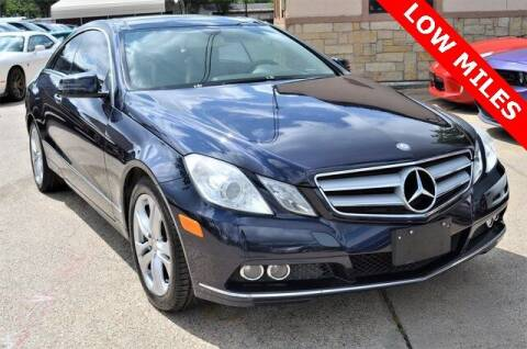2011 Mercedes-Benz E-Class for sale at LAKESIDE MOTORS, INC. in Sachse TX