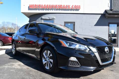 2019 Nissan Altima for sale at Heritage Automotive Sales in Columbus in Columbus IN