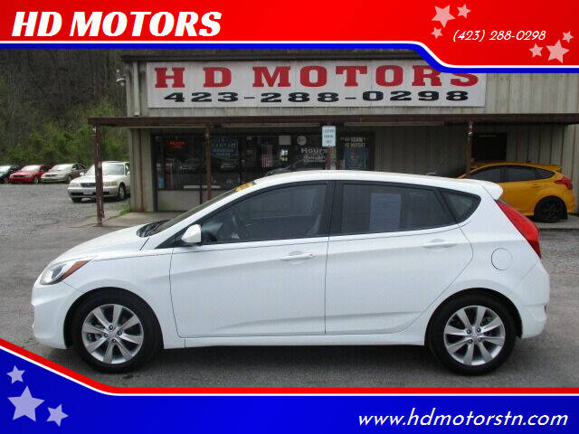 2012 Hyundai Accent for sale at HD MOTORS in Kingsport TN