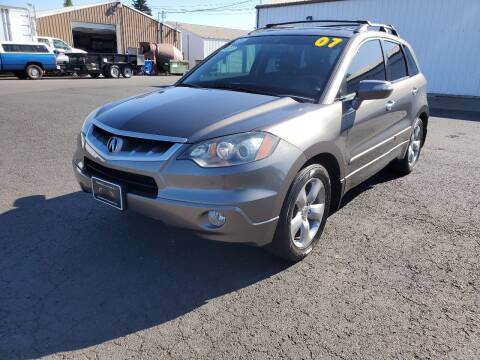 2007 Acura RDX for sale at McMinnville Auto Sales LLC in Mcminnville OR