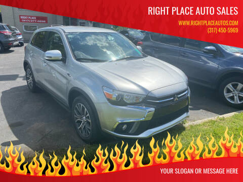 2019 Mitsubishi Outlander Sport for sale at Right Place Auto Sales in Indianapolis IN