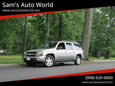 2003 Chevrolet TrailBlazer for sale at Sam's Auto World in Roselle NJ