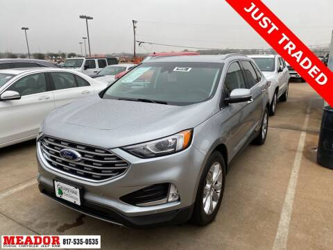 2020 Ford Edge for sale at Meador Dodge Chrysler Jeep RAM in Fort Worth TX