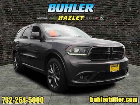 2018 Dodge Durango for sale at Buhler and Bitter Chrysler Jeep in Hazlet NJ