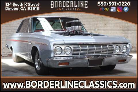 1964 Plymouth Fury for sale at Borderline Classics - Kearney Collection in Dinuba CA