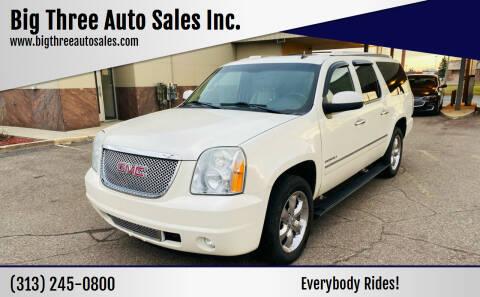 2011 GMC Yukon XL for sale at Big Three Auto Sales Inc. in Detroit MI