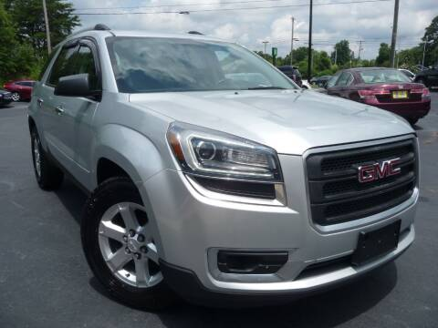 2014 GMC Acadia for sale at Wade Hampton Auto Mart in Greer SC