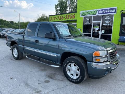 2006 GMC Sierra 1500 for sale at Empire Auto Group in Indianapolis IN