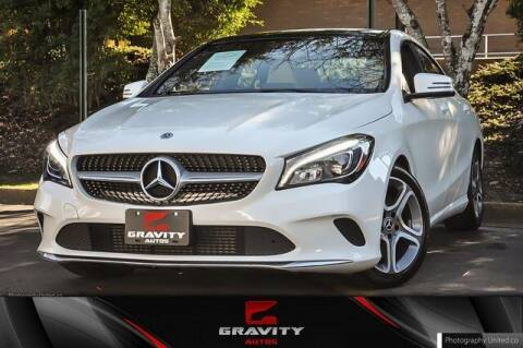 2018 Mercedes-Benz CLA for sale at Gravity Autos Atlanta in Atlanta GA