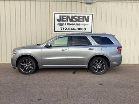 2017 Dodge Durango for sale at Jensen's Dealerships in Sioux City IA
