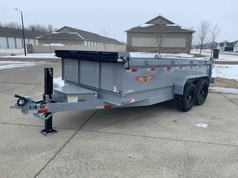 2021 H&H DBW-14 #8682 for sale at Prairie Wind Trailers, LLC in Harrisburg SD