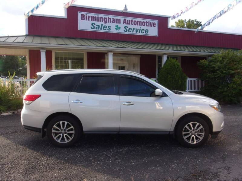2013 Nissan Pathfinder for sale at Birmingham Automotive in Birmingham OH