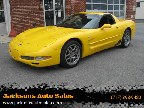 2003 Chevrolet Corvette for sale at Jacksons Auto Sales in Landisville PA