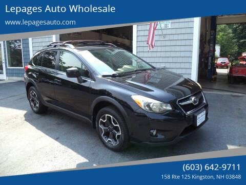 2014 Subaru XV Crosstrek for sale at Lepages Auto Wholesale in Kingston NH
