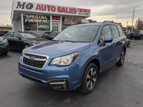 2018 Subaru Forester for sale at Mo Auto Sales in Fairfield OH