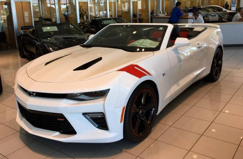 2018 Chevrolet Camaro for sale at Suncoast Sports Cars and Exotics in West Palm Beach FL