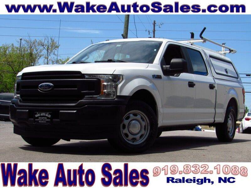 2018 Ford F-150 for sale at Wake Auto Sales Inc in Raleigh NC