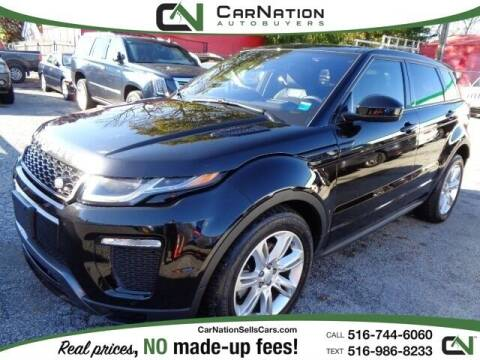 2018 Land Rover Range Rover Evoque for sale at CarNation AUTOBUYERS, Inc. in Rockville Centre NY