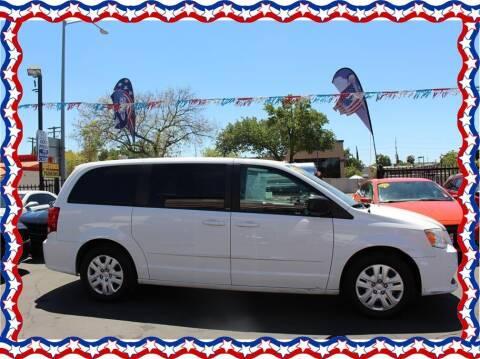 2014 Dodge Grand Caravan for sale at American Auto Depot in Modesto CA