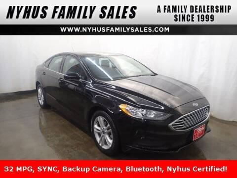 2018 Ford Fusion for sale at Nyhus Family Sales in Perham MN