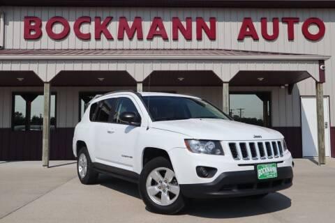 2014 Jeep Compass for sale at Bockmann Auto Sales in Saint Paul NE