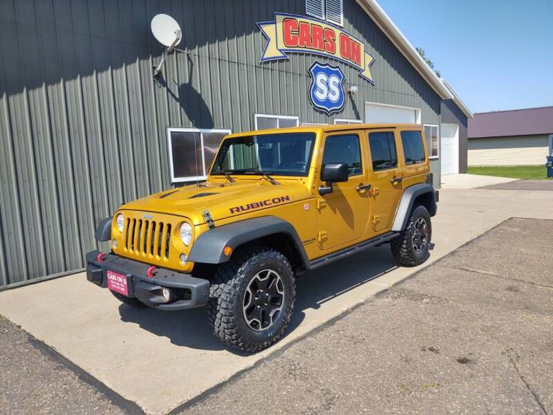 2014 Jeep Wrangler Unlimited for sale at CARS ON SS in Rice Lake WI