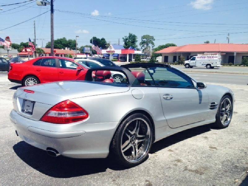 2007 Mercedes-Benz SL-Class for sale at WHEEL UNIK AUTOMOTIVE & ACCESSORIES INC in Orlando FL