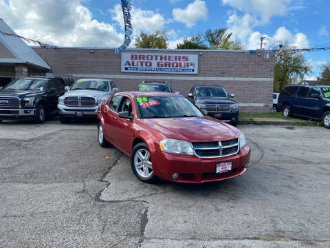 2008 Dodge Avenger for sale at Brothers Auto Group in Youngstown OH