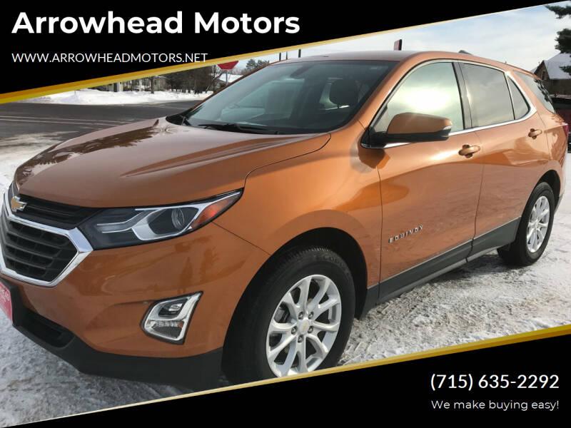 2018 Chevrolet Equinox for sale at Arrowhead Motors in Spooner WI
