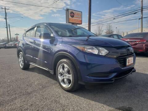 2016 Honda HR-V for sale at Cars 4 Grab in Winchester VA