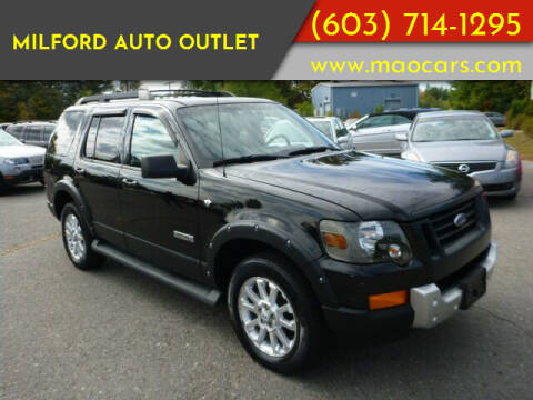 2008 Ford Explorer for sale at Milford Auto Outlet in Milford NH