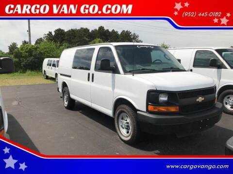 2016 Chevrolet Express Cargo for sale at CARGO VAN GO.COM in Shakopee MN